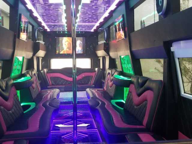 22 Passenger Party Bus - H2 Hummer NEW