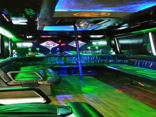 22 Passenger Party Bus
