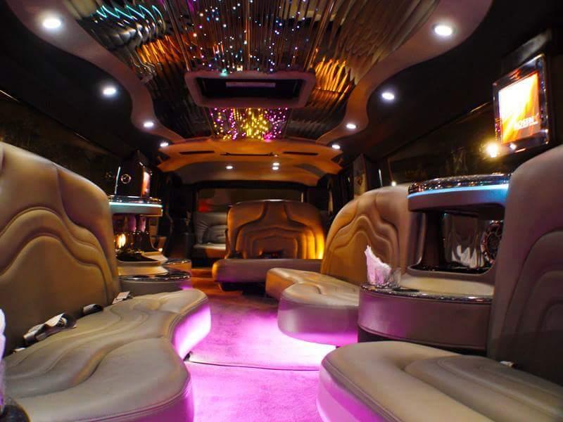 18-20 Passenger SUV Stretch Limousine H2 Hummer BLACK