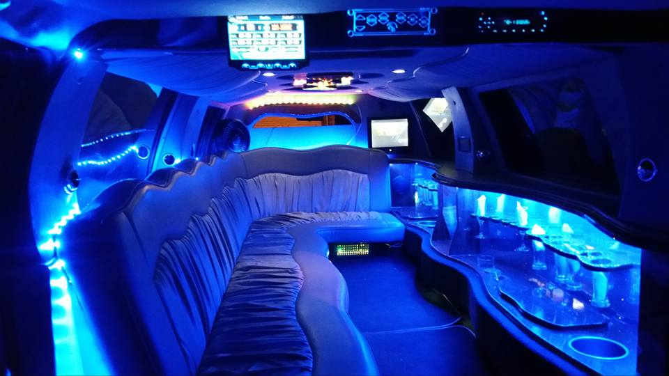 16 Passenger SUV Stretch Limo Excursion WHITE