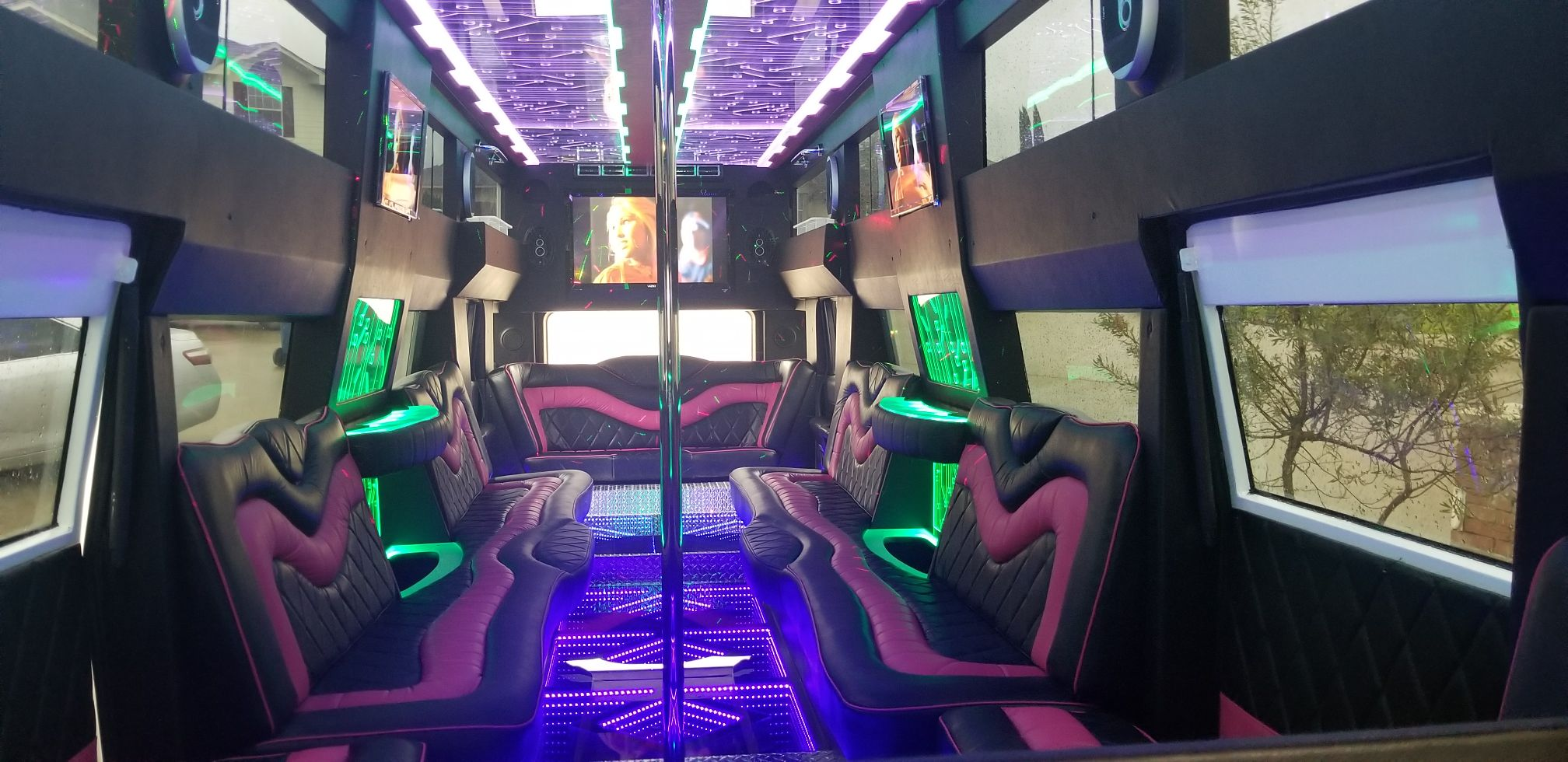 18 Passenger H2 Hummer Transformer Party Bus
